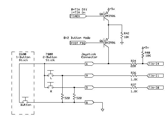 atari 7800 controller wiring, atari, free engine image for